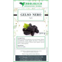 Gelso nero foglie taglio tisana 500 grammi