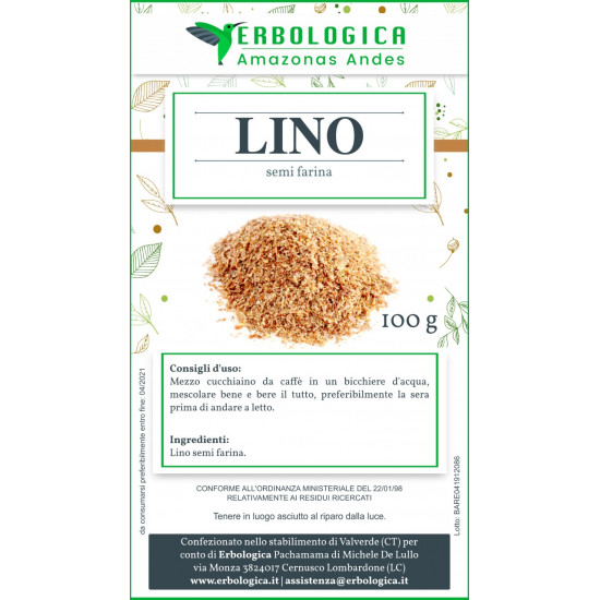 Lino semi farina 500 grammi