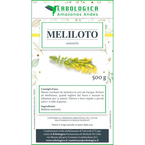 Meliloto pianta taglio tisana 500 grammi