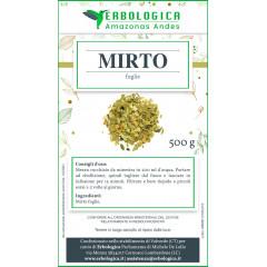 Mirto foglie taglio tisana 500 grammi