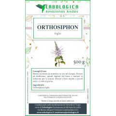 Orthosiphon foglie 500 grammi taglio tisana