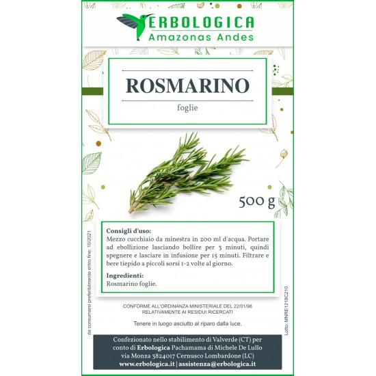 Rosmarino foglie taglio tisana 500 grammi