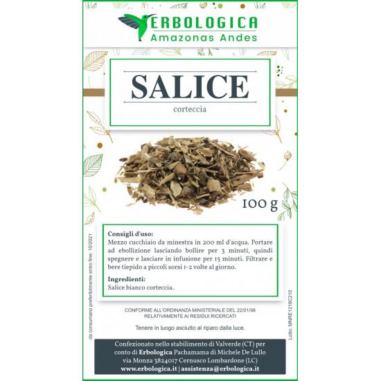 Salice bianco corteccia tisana 500 grammi