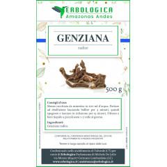 Genziana radice tisana 500 grammi