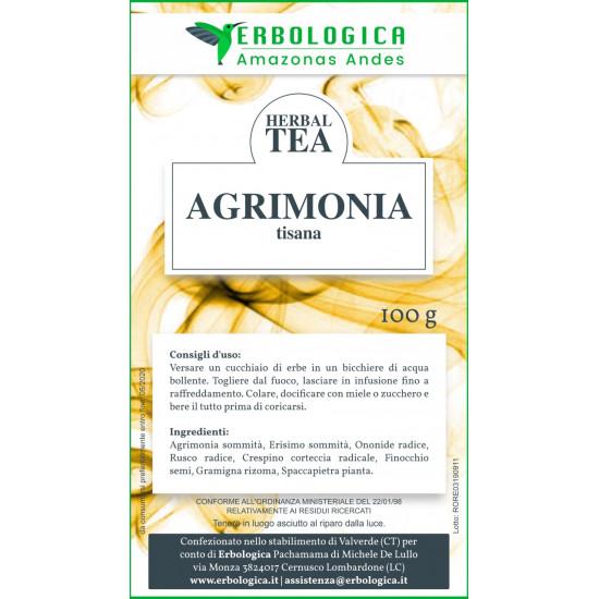 Agrimonia tisana composta 100 grammi