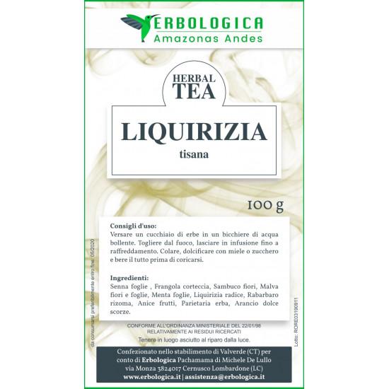 Liquirizia radice tisana composta 100 grammi